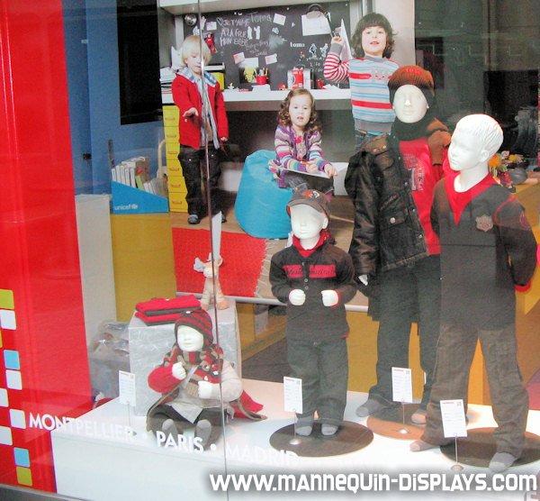 mannequins children